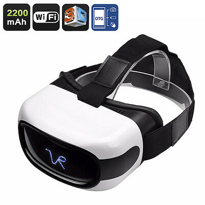3D Video Glasses - Vr Android 5 Inch HD Display, 3D Support, Quad-Core CPU, Wi-F