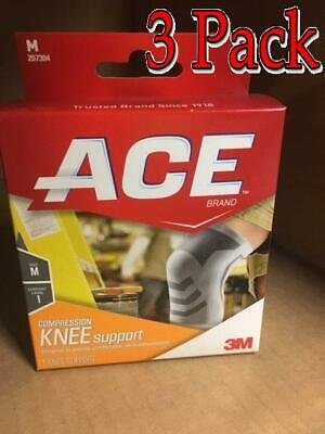 Ace Knitted Knee Mild Support, Medium, 1ct, 3 Pack 051131198173A536