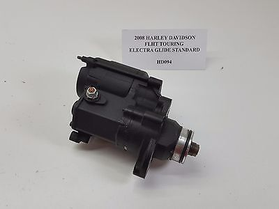 2008 Harley FLHT Touring Electra Glide Starter Motor 96ci 103ci Softail Dy HD094