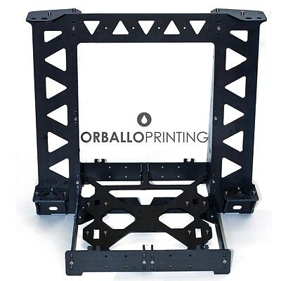 3D printer Kit Reprap P3STEEL Prusa i3 Frame + Stainless Steel Rods + Hardware