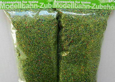 MEADOW GREEN COLOUR SCATTER x 1 FOR MODEL RAILWAY HO / N / Z GAUGE, BRAND NEW