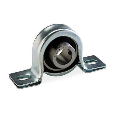 "DAYTON Pillow Block Bearing,Ball,3/4"" Bore, 2X899"
