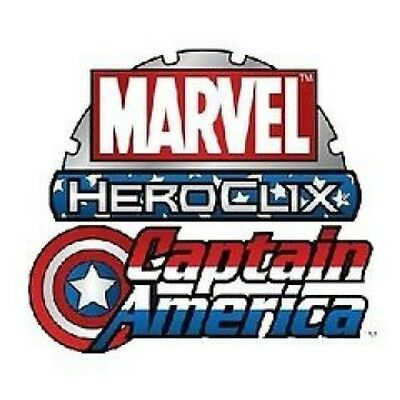 Marvel Heroclix Captain America Sealed BRICK 10 Boosters