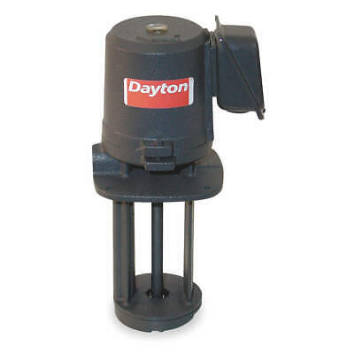 DAYTON Oil Coolant Pump, 1/8 HP, 3Ph, 230/460V, 3GRV6
