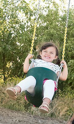 Toy Infant Baby Toddler Swing High Back Development Fun Learn Kids Play Children