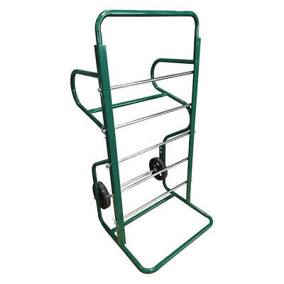 GRAINGER APPROVED Steel Hand Truck Wire Cart,54 1/2x26 1/2 In, 911, Green