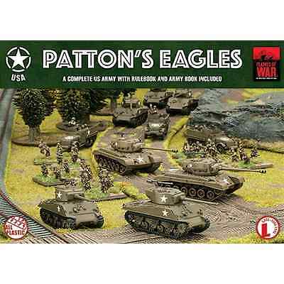 FoW-USAB07 - FLAMES of WAR: 15mm; Patton's Eagles (includes Mini rulebook + Brid