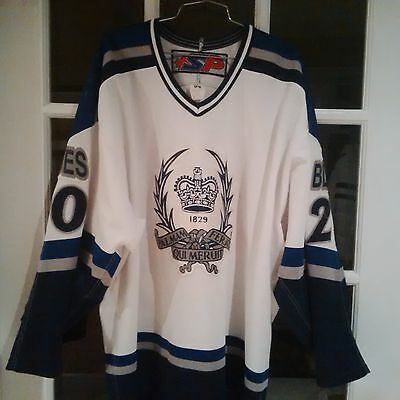 Upper Canada College Game Worn Pro Hockey Jersey #20 - White - Size 54 - NEW