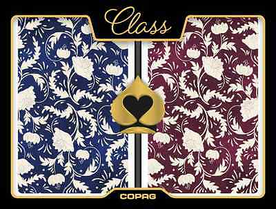 New COPAG 100% Plastic Playing Cards CLASS NATURAL  New Style Bridge Jumbo Index