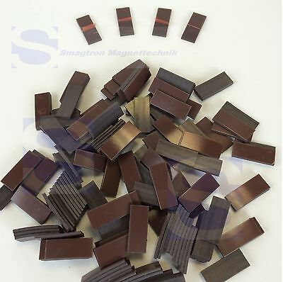 Power (Takkis),Self-Adhesive 11 x 25 x 1,5mm -250 Pieces Magnet Foil Extra