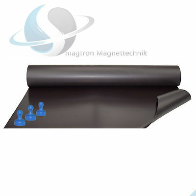 Iron Foil - Raw, Uncoated, Sold by the Meter - 0,4mm x 0,62m x 1m - Magnet Foil