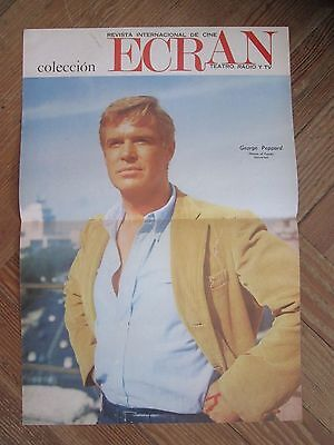 George Peppard Celebrity Poster 1968