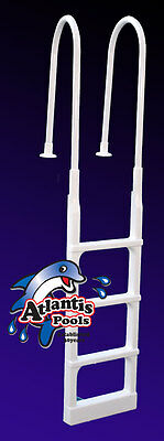 Swimming Pool Ladder Steps For Above Ground Pool Deck Mount Aluminium/pvc Ladder