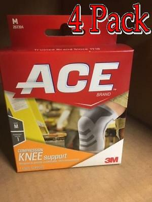 Ace Knitted Knee Mild Support, Medium, 1ct, 4 Pack 051131198173A536