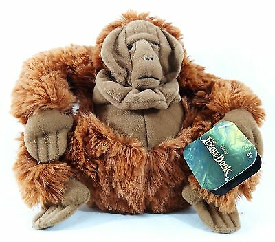 NEW Disney The Jungle Book 8 inch Plush Stuffed Animal King Louie FREE SHIPPING