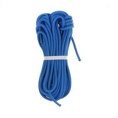 30M 8mm Outdoor Rescue Rappelling Cord Rock Climbing Static Auxiliary Rope