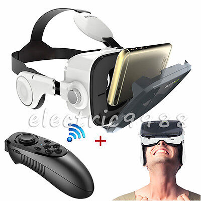 3D VR Virtual Reality BOBO VR Z4 Glasses Earphone VR Box with Remote Controller