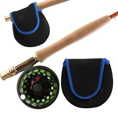 Neoprene Fly Fishing Tackle Fly Reel Pouch Cover Reel Bag Protector Holder