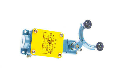10A Ith 1NO 1NC SPDT Latching Double Rotary Roller Lever Arm Limit Switch