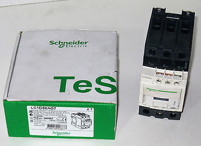 New LC1D50AG7 - Schneider Electric Contactor