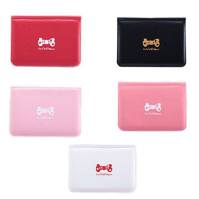 Butterfly Credit Card Holder Case Wallet Business Package Cute Bag For Women