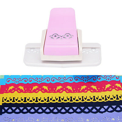 Fancy border punch S flower design embossing Punch scrapbooking DIY paper cutter