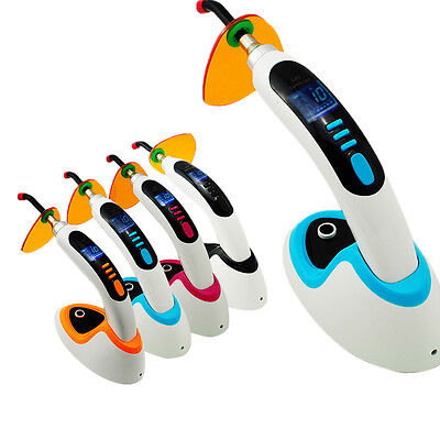 CE 10W Wireless Cordless LED Dental Curing Light Lamp 2000mw USA Sell Fast