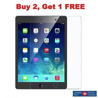 Premium Tempered Glass Screen Protector For Apple iPad 5/6 iPad  Air 1/2