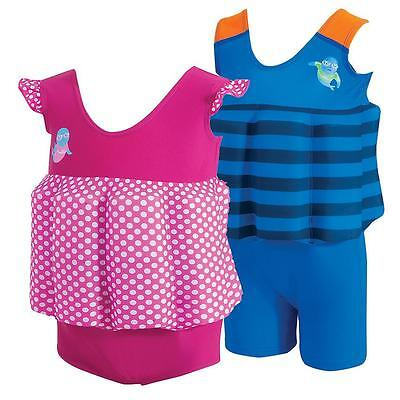 Zoggs Child Kids LTS Floatsuit Adjustable Swim Training Aid Swimming Pool Safety