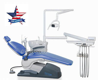 Computer Controlled Dental Unit Chair FDACE Approved A1 Model Hard leather IN US