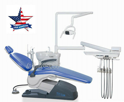 TUOJIAN Computer Controlled Dental Unit Chair  A1 Model Hard leather IN US