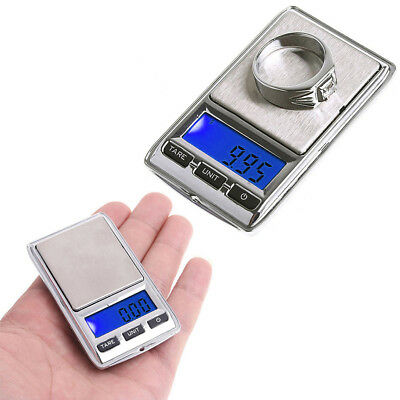 Mini Pocket Electronic Scale 100g/0.01 200g/0.01 LCD Digital Jewelry Dual Weight