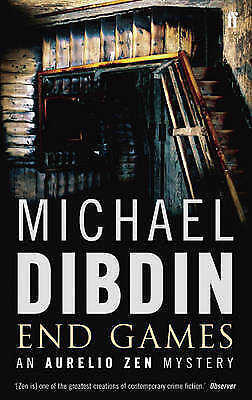 End Games BRAND NEW BOOK by Michael Dibdin (Paperback, 2008)