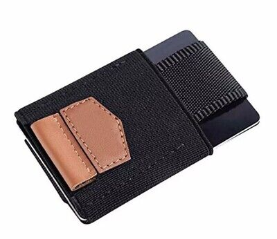 Mens Leather magic Wallet,Slim Credit card holder Ships From Australia