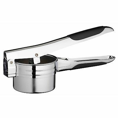 Potato Ricer Masher And Fruit Press With 2 Ricing Discs Heavy Duty Chrome Plated