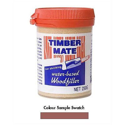 Timbermate WOOD FILLER Water Based, Paintable,MAHOGANY *Aust Brand- 250g Or 500g