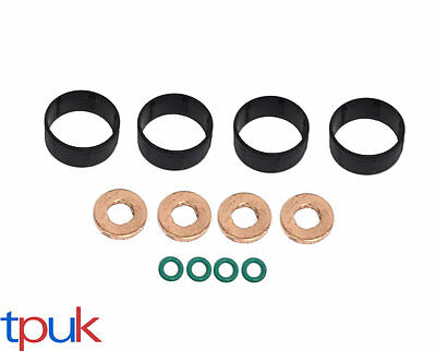 FUEL INJECTOR SEAL + WASHER + ORING SET FOR CITROEN PEUGEOT 1.4 HDi DIESEL
