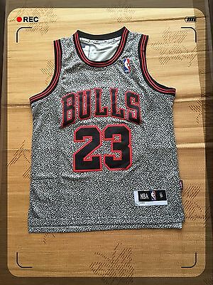 #23 Michael Jordan Red Basketball Jersey Black Color(Express Post)