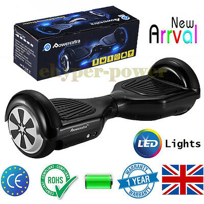 New LED Hoverboard Electric Scooter Balance Board 2 Wheels Hover Board Scooters