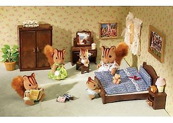 Sylvanian Families - Master Bedroom Set - SF5039