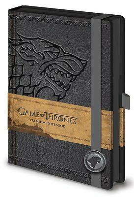 Game Of Thrones Stark Premium A5 Bound Notebook 100% Official Quality Merch