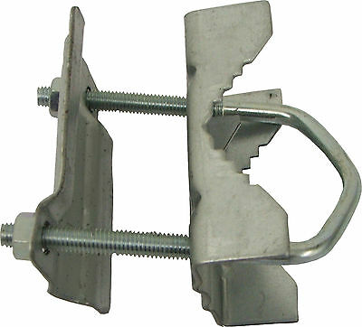 "2"" inch x 1"" inch Aerial / Satellite Mast Clamp Bracket"