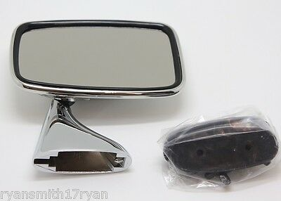 Rover P6, P6B R/H Stainless Steel Tex Style Door Mirror O/S Gam215A 6E3