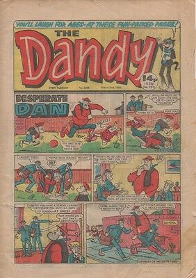 The Dandy Uk Vintage Comic No.2258 March 2Nd 1985