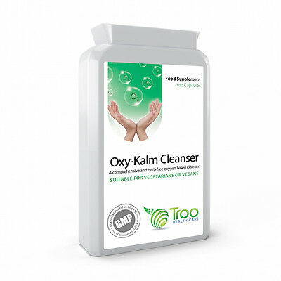 Oxy-Kalm Cleanser 100 Capsules - Oxy Therapy Based Intestinal Colon Cleanser