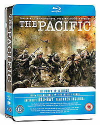 The Pacific - Complete HBO Series [Blu-ray][2010] [Region Free] New & Sealed