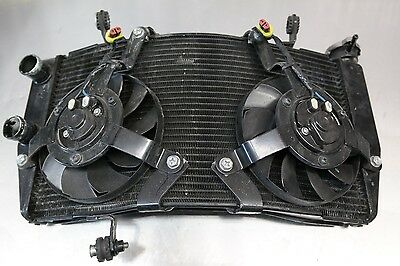 08 09 Ducati 1098 Radiator And Fans Assembly Oem