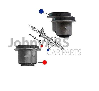 For TOYOTA AVENSIS VERSO PICNIC 00-05 4x NEW POWER STEERING RACK GEARBUSH BUSHES