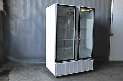 Used Master Bilt BMG48 2 Door Cooler, Excellent Condition, Free Shipping!