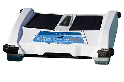 Solar Breeze NX Automatic Pool Skimmer- Powered By The Sun- New 2016 Model